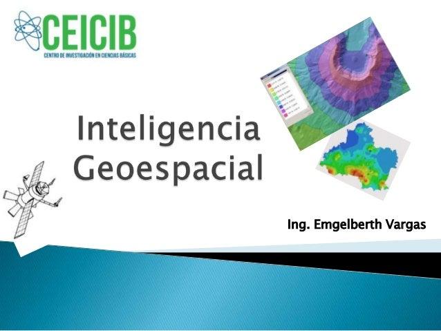Inteligencia geoespacial i parte
