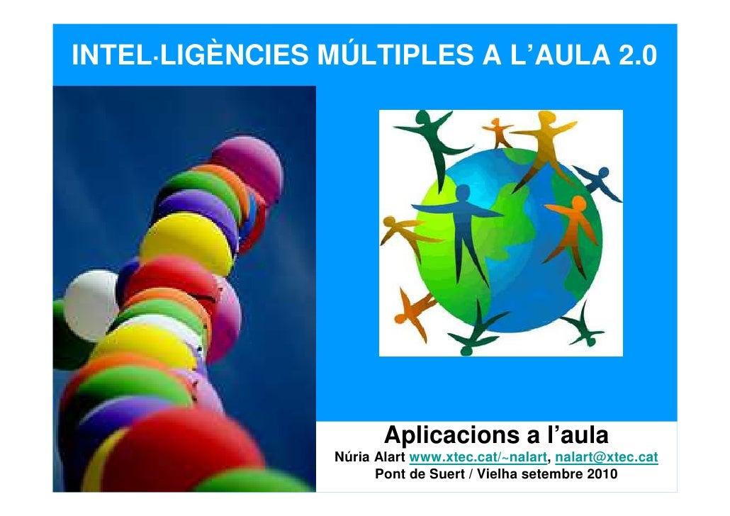 Inteligencies múltiples i aula 2 0