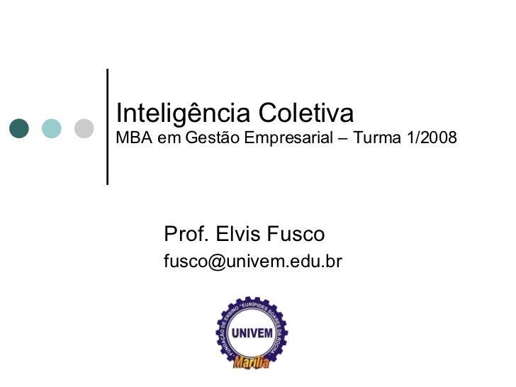 Inteligência Coletiva Empresarial