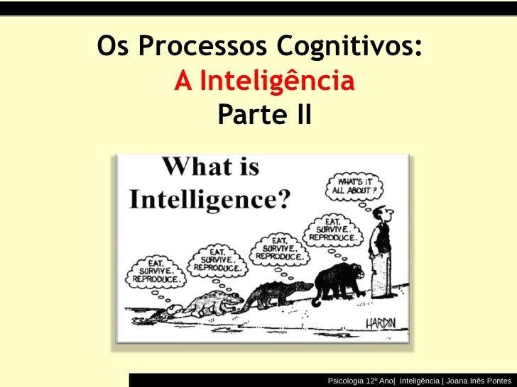 Inteligência II