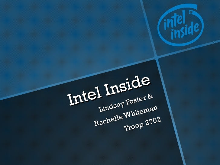Intel Inside (Trailblazers 2012)
