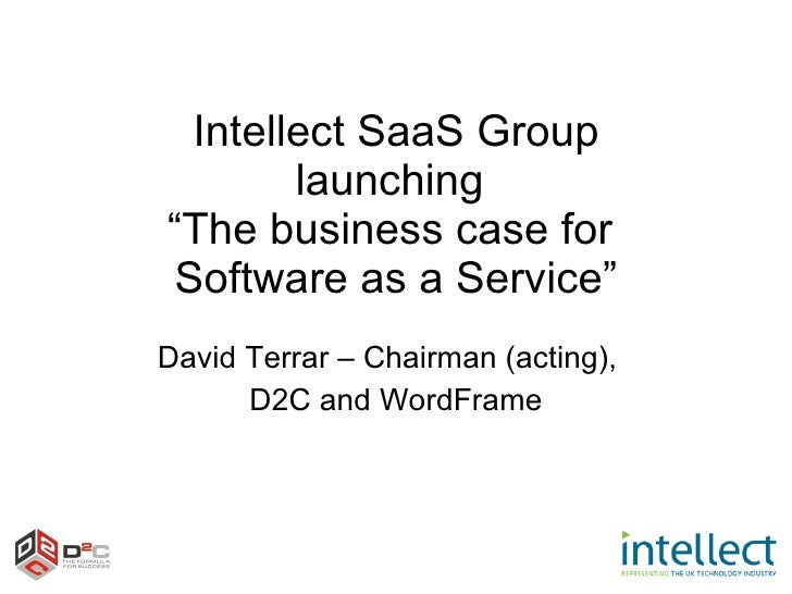 Intellect SaaS Paper Launch