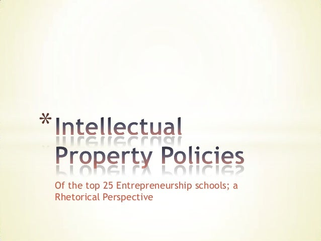 Open 2013:   Intellectual Property Policies: What are universities saying?