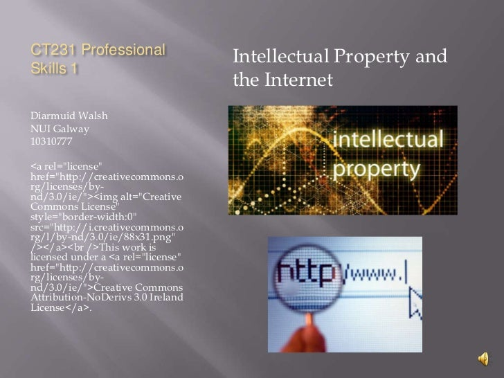 CT231 Professional                                    Intellectual Property andSkills 1                                   ...