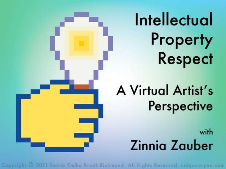 Intellectual Property Respect - A Virtual Artist's Perspective