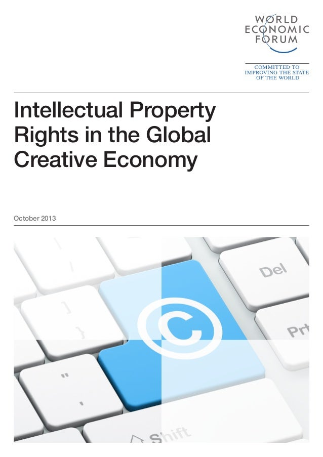 Intellectual property rights in the global creative economy report 2013