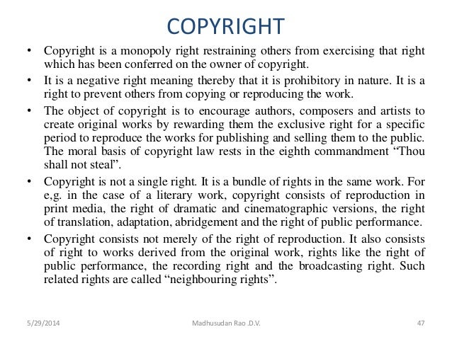Research paper copyright