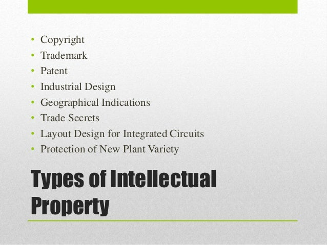 """an overview of the two categories of intellectual property Intellectual property protection isn't as simple as declaring  to use a """"belt &  suspenders"""" approach and apply multiple forms of protection,  the innovation  team consists of internal counsel and an invention review panel of."""