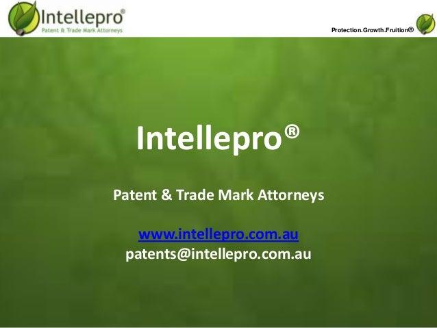 Intellepro patent, design & trade mark attorneys