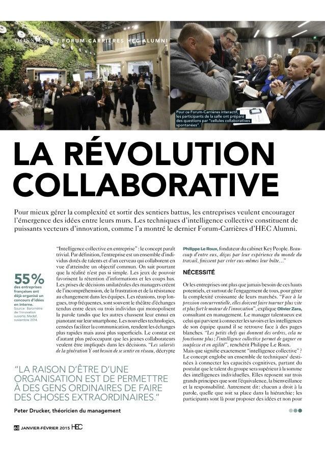 Intelligence collective-hec-fev2015 Institut Francophone d'intelligence collective