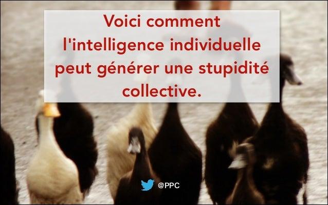 @PPCVoici commentlintelligence individuellepeut générer une stupiditécollective.