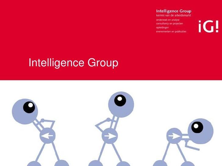 Intelligence Group<br />