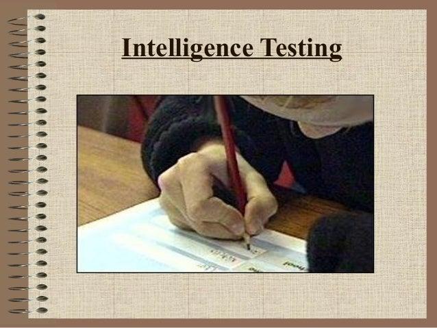 Intelligence Testing