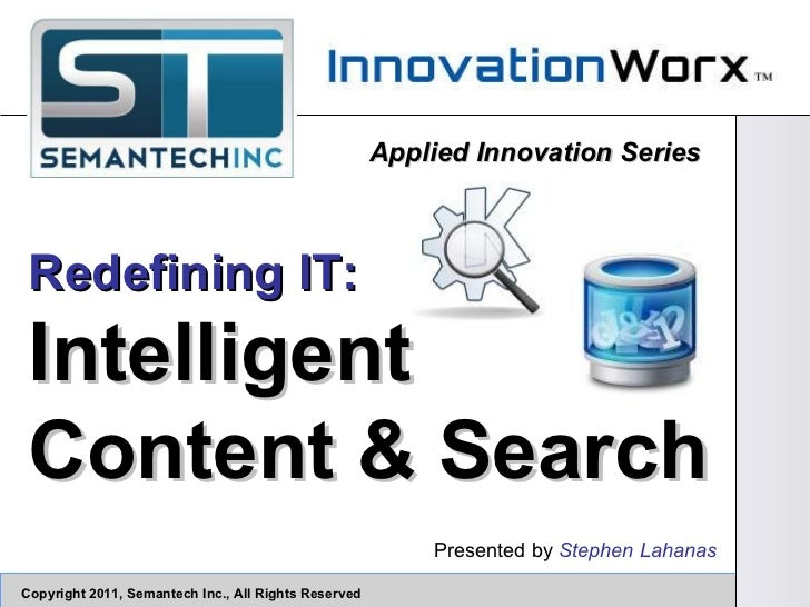 Intelligent Content & Search