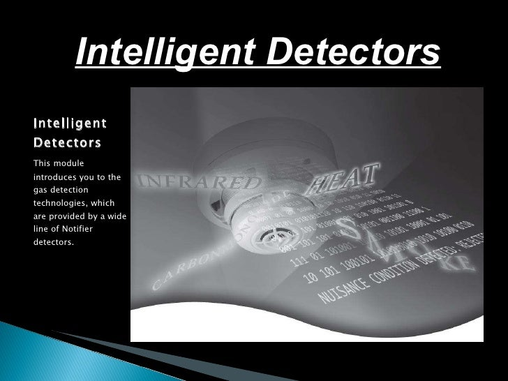 Intelligent detectors