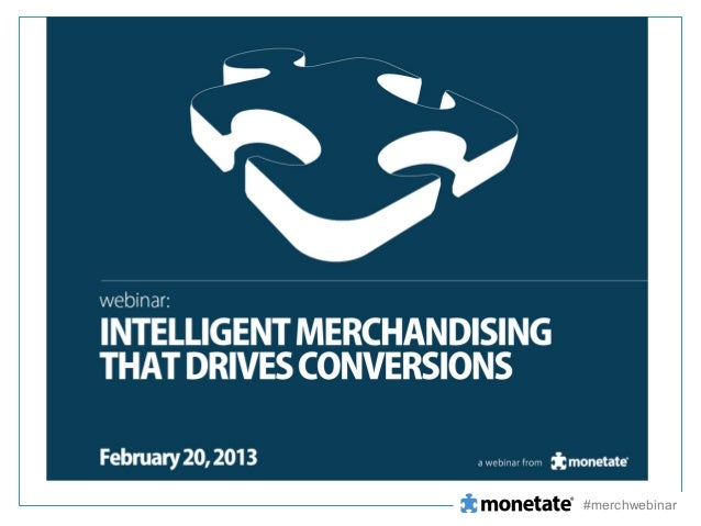 Intelligent Merchandising that Drives Conversions