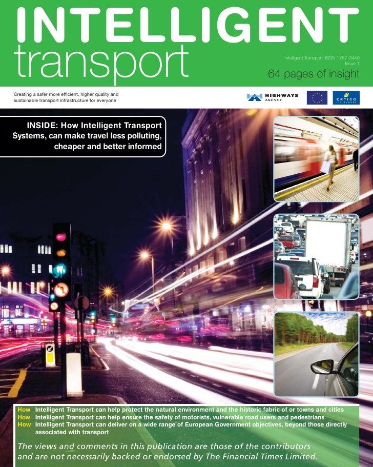 Financial Times / Intelligent Transport