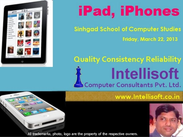 Intellisoft ipad iphone Info March13