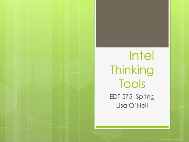 Intel Thinking Tools