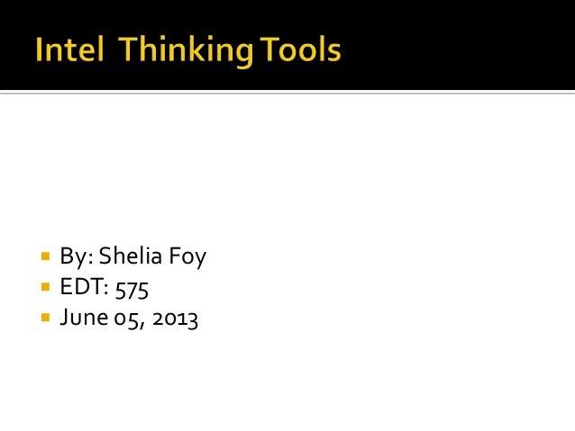 Intel thinking tools  575