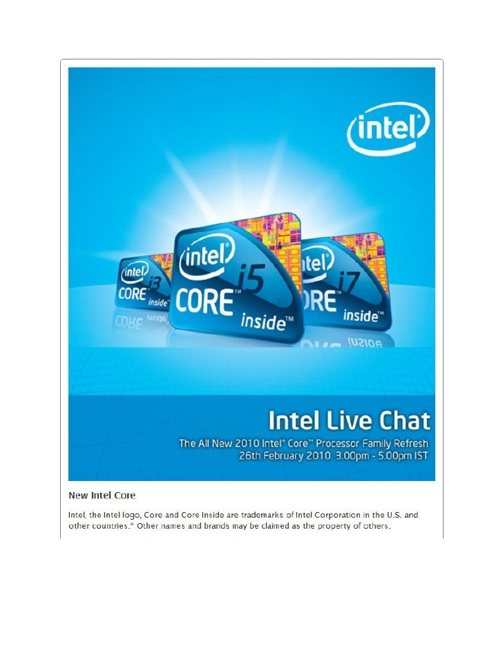 For the complete Transcript, please log on to        http://intellivechat.com