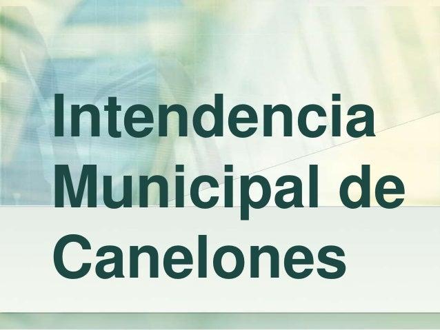 Intendencia Municipal de Canelones