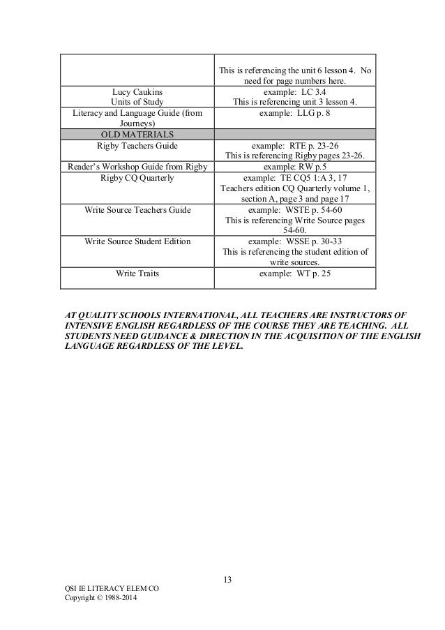 Intensive English Curriculum - Elementary