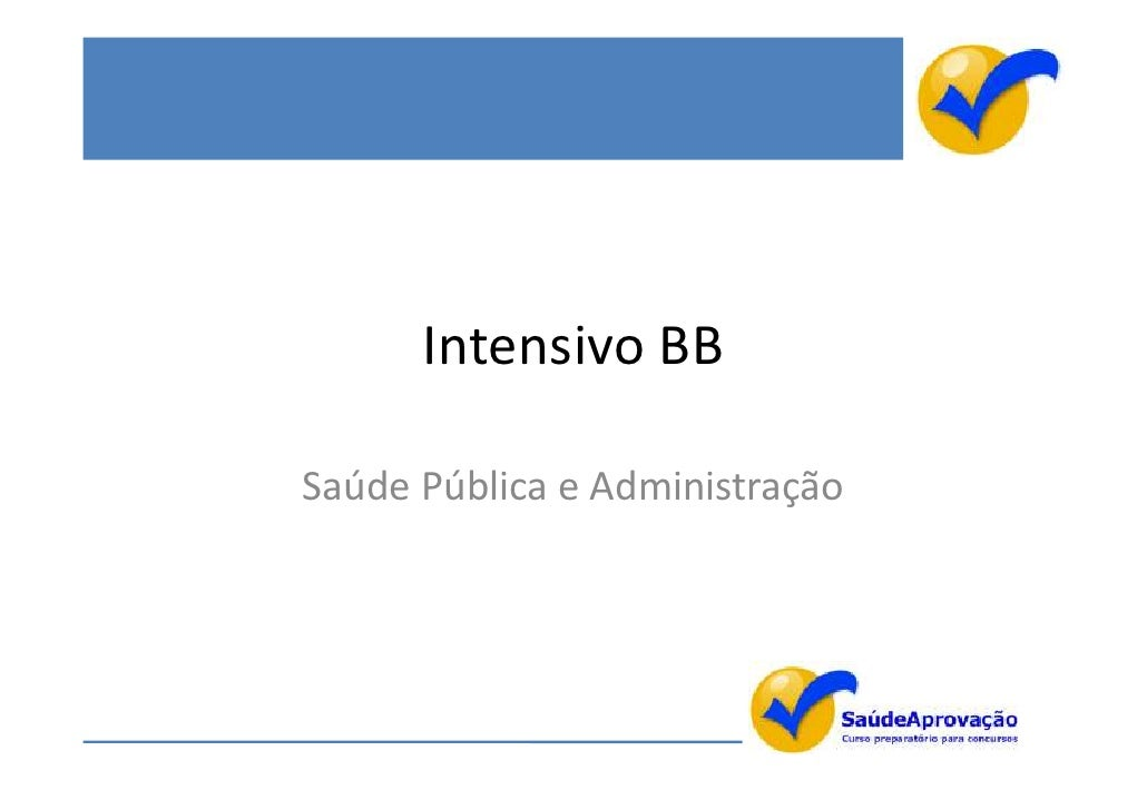 Intensivo bb