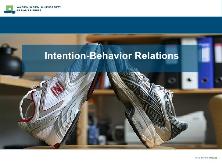 Intention-Behavior Relations