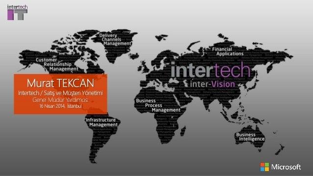 Tüm Hakları Saklıdır. 2014. http://www.intertech.com.tr info@intertech.com.tr +90 (212) 340 32 00 AJANDA Hakkımızda İş Kri...