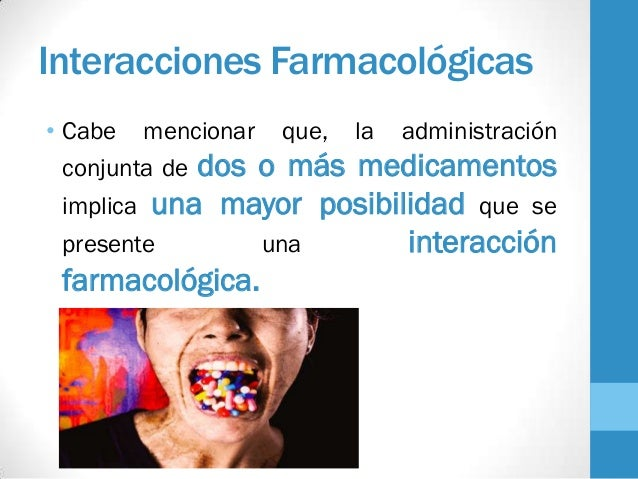 interacciones farmacologicas del enalapril