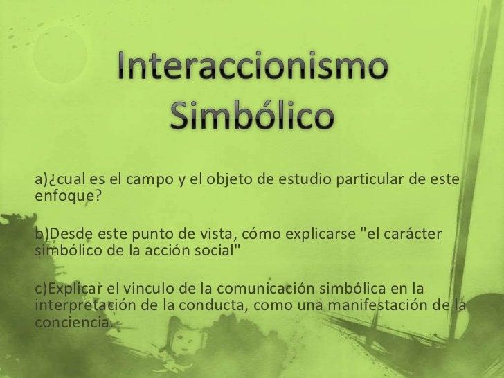 Interacionismo simbolico