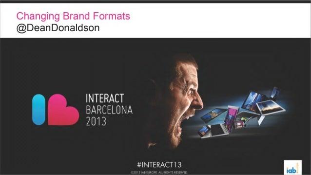 IAB Interact 2013