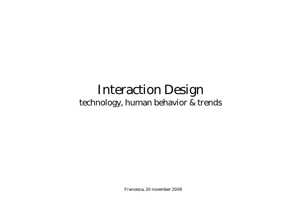 2008 | A conversation about Interaction Design