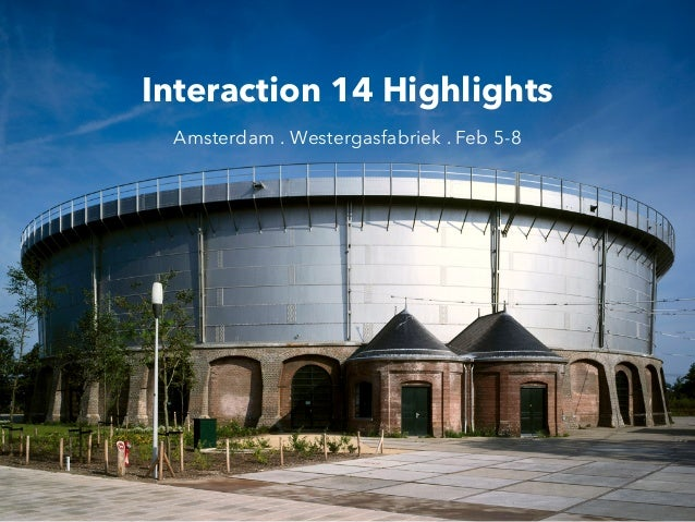 Interaction 14 Highlights