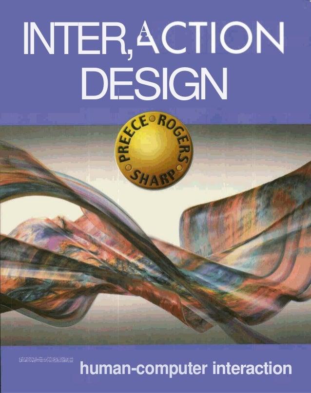 AINTER, ,CTIOW   DESIGN   Ibeyond human-computer interaction