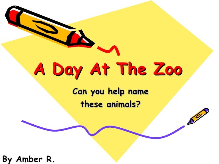 A Day At The Zoo Can you help name these animals? By Amber R.
