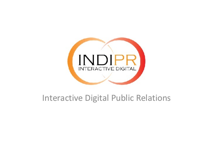 Interactive Digital Public Relations