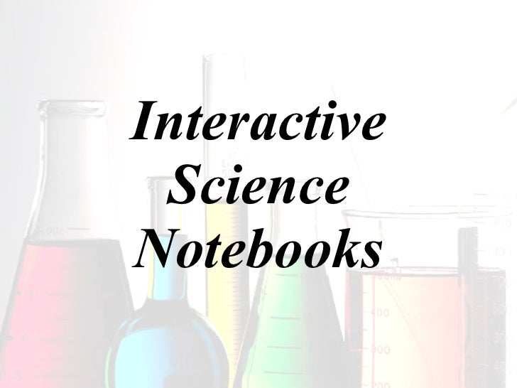 Interactive Science Notebooks2