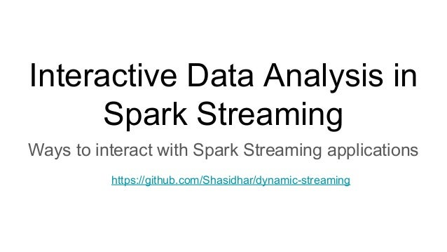 interactive data analysis Data analysis interactive interactive bioanalytical systems, inc interactive data processing includes three main functions: peak detection.