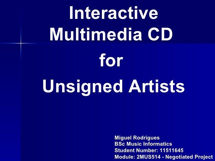 Interactive Multimedia Cd