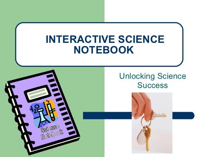 Interactive notebook 2011-2012