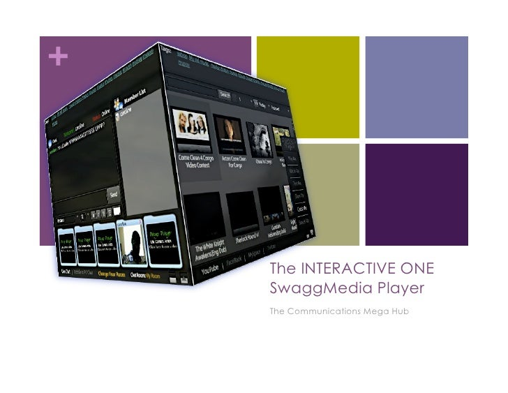+         The INTERACTIVE ONE     SwaggMedia Player     The Communications Mega Hub