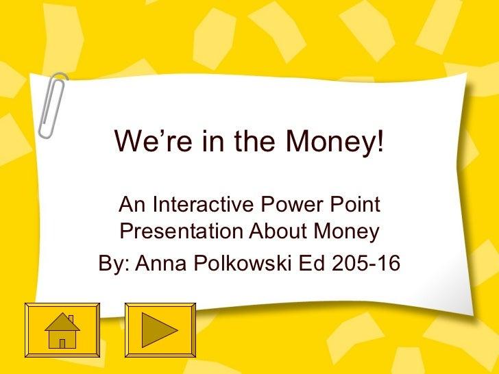 Interactive Money PowerPoint