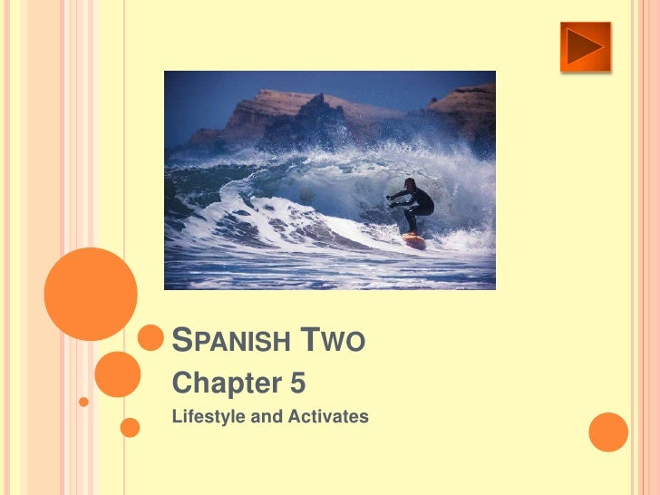 SPANISH TWO Chapter 5 Lifestyle and Activates