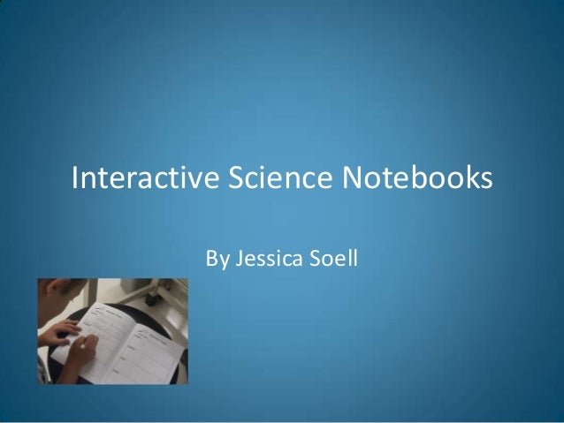 Interactive Science Notebooks By Jessica Soell