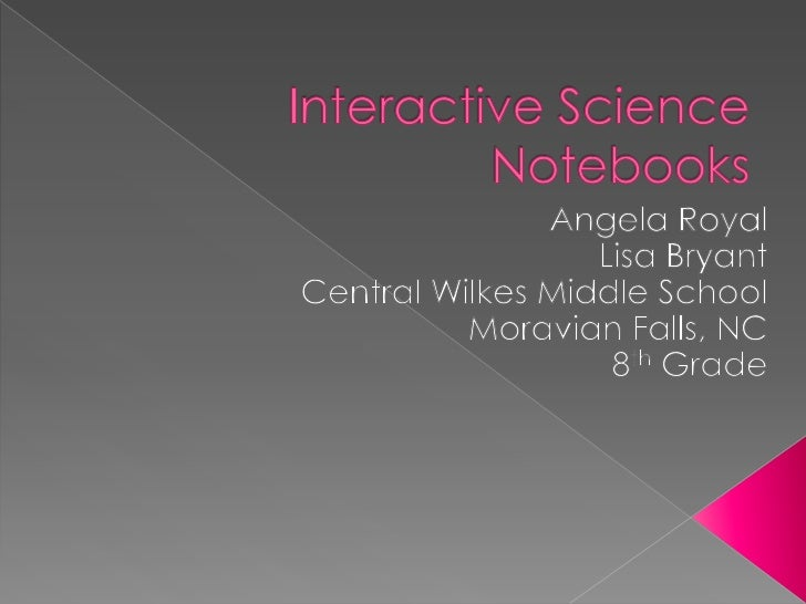 Interactive Science Notebooks Conference