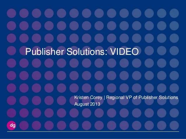 Interactive video dg adexcite