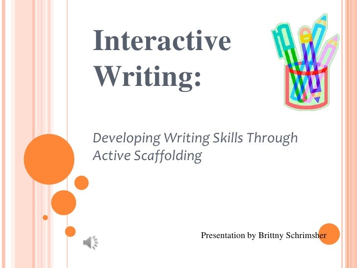 Interactive Writing Strategy