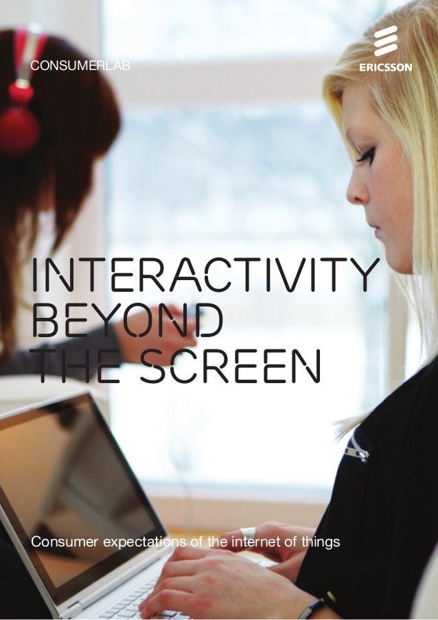 Interactivity Beyond the Screen